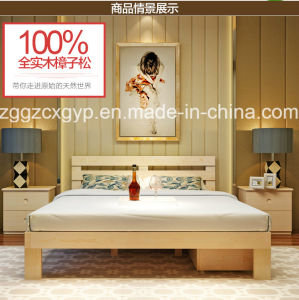 High Quality Wood Bed /Bedroom Wood Bed /Factory Supply Wood Modern Bed Cx-Wb019 pictures & photos