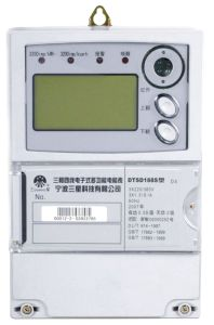 Three-Phase Four-Wire/Three-Phase Three-Wire Multi-Function Static Meter(Electricity Meter, Watt-Hour Meter, Meter)