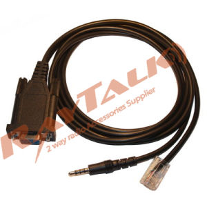 Two Way Radio Programming Cable for Vertex CT-42/CT-104 RS-232 Rib-Less Programming Cable (2-IN-1) pictures & photos