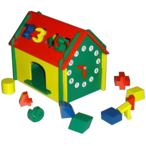 Wooden Toys - Clock Doll House (ZYYB-0032)