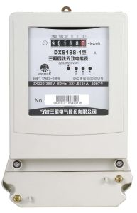 Three-Phase Four-Wire Reactive Meter DXS188-1 (Kema Approval Reactive Meter)