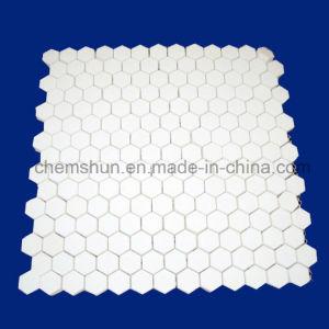 95% Alumina Abrasion Resistant Ceramic Hex Tile Mat pictures & photos