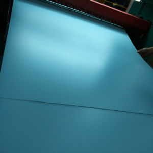 4X8 Beautiful 1mm Opaque Blue PVC Rigid Sheet for Furniture pictures & photos