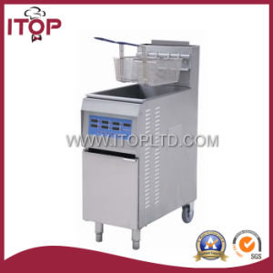 1-Tank 2-Baskets Commercial Gas Fryer (SGF4C) pictures & photos