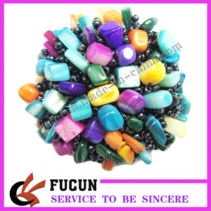 Fashion Glass Beads Fashion Flowers (FCSF21)