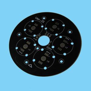 Round Aluminum PCB (Black Sollder Mask)