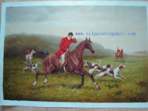 Hunting Oil Paintings On Canvas (T97)