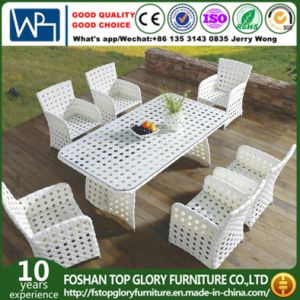 Rattan Outdoor Dinner Chair and Table (TG-1618) pictures & photos