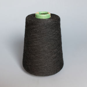 Polyester Spun Yarn-Dark Melange pictures & photos