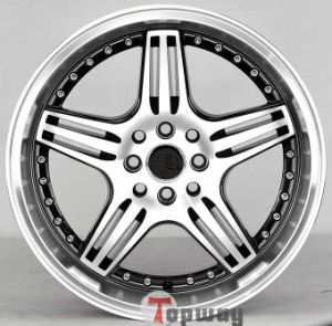 Passenger Car Aluminum Alloy Wheel Rims (TD-5048)