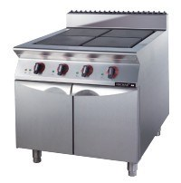 Commercial Four Burner Gas Stove with Cabinet (FG9XC41YN) --LPG pictures & photos