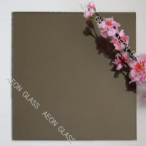 CE Certificate 4mm, 5mm, 5.5mm, 6mm Light Grey Reflective Glass pictures & photos