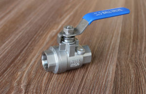 Carbon Steel 2PC Ball Valve Manufacturer pictures & photos