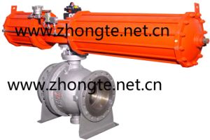 Pneumatic Stainless Steel Ball Valve (QW)