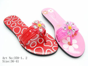Ladies′ PVC Slipper (359)