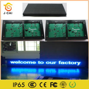 P10 outdoor Single blue LED Advertising Information Sign Lighting pictures & photos