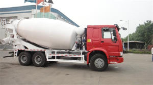 Sino 6X4 336HP 8cbm Concrete Mixer HOWO pictures & photos