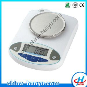 Electronic Balance with Round Pan