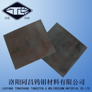 Black Molybdenum Sheet and Plate for Sapphire Furnace pictures & photos
