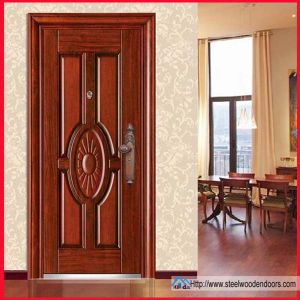 Cheap Price Entrance Cold-Rolled Steel Door