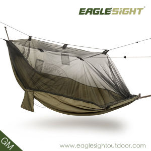 Backpacking Mosquito Net Parachute Nylon Hammock