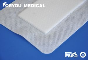 High Absorbent Adherent Foam Dressing with Border or Without Border pictures & photos