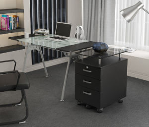 Office Furniture Filing Cabinet for Storage with Glass Top pictures & photos