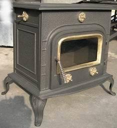 Cast Iron Wood Burning Stove, Fireplace, Chiminea