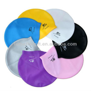 Wholesale Silicone Swimming Cap From Factory pictures & photos