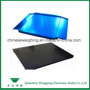 1t-10t Electronic Industrial Floor Scales for Warehouse pictures & photos