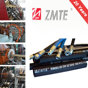 Zmte Mining and High-Perfomance Flexible Hydraulic R13 Spiral Hose pictures & photos