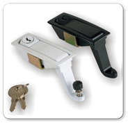 Zamak Die Casting Electric Cabinet Lock (MS732) pictures & photos