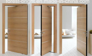 Fancy Interior Veneer Wooden Flush Door System pictures & photos