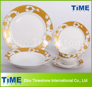 20PCS Porcelain Dinner Set with Decal pictures & photos