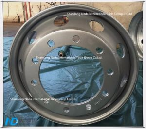 22.5x6.00 Tubeless Rim TBR Truck Steel Wheel with TS16949/ISO9001: 2000 pictures & photos