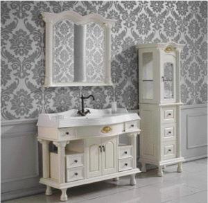 European Style/Solid Wooden Bathroom Cabinet / Vanity (KA959)