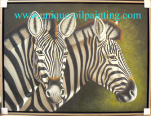 Oil Painting, Zebra Oil Painting, Horse Oil Painting