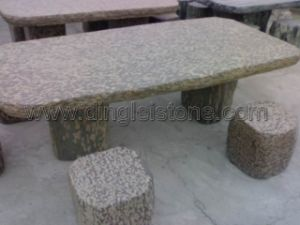 Natural Stone Table & Chair