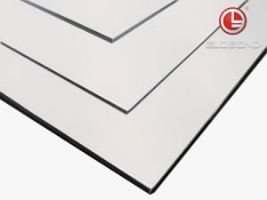 PVDF Aluminum Composite Panel / ACP (PF-411 White) pictures & photos