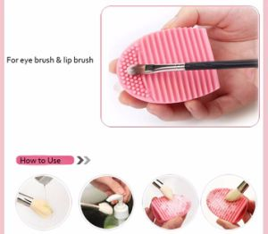Hot Selling Silicon Makeup Brush Cleaner Cosmetics Brushes Cleaning Mat pictures & photos