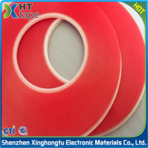 0.03mm Electronics Industry Double Sided Red Pet Tape pictures & photos