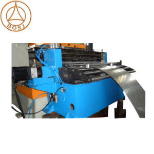 Automatic Galvanzied Steel Cable Tray Trunking Tank Ladder Roll Forming Machine Factory pictures & photos