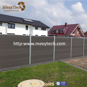 2017 Easy Installation Aluminum Security Composite WPC Privacy Garden Fence pictures & photos