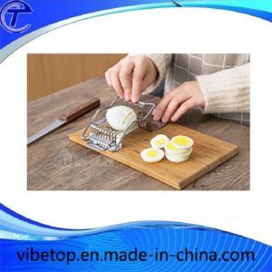 Wholesale Stainless Steel Cut Egg Slicer pictures & photos