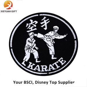 Factory Supply Custom Machine Judo Embroidery Badge pictures & photos