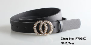 2018 Fashion PU Belts for Ladies (F7024I) pictures & photos