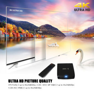 China 4K H. 265 2.4G 5g WiFi Ott TV Box pictures & photos
