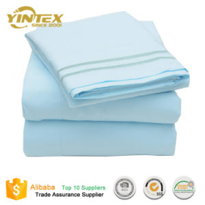 Textiles Bed Sheets 100% Microfiber Bed Sheet Set pictures & photos
