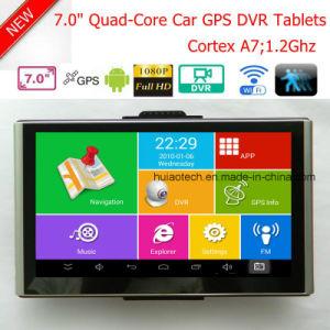 "Android 7.0"" Multi-Touch Car Digital Video Recorder Built in 1GB DDR,8GB Flash;FM Transmitter;GPS Navigation;2.0mega Full HD1080p Camera ;AV-in Parking Camera pictures & photos"