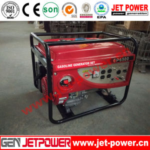 6kw Gasoline Generator Electric Start Portable with Ce ISO9001 pictures & photos